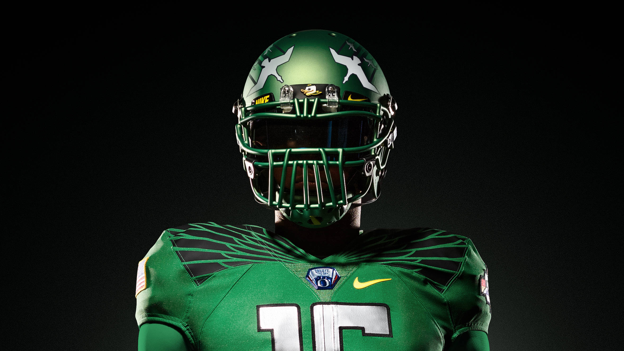 half off 68a16 73e56 Ducks, Nike continue Spring Game uniform tradition ...