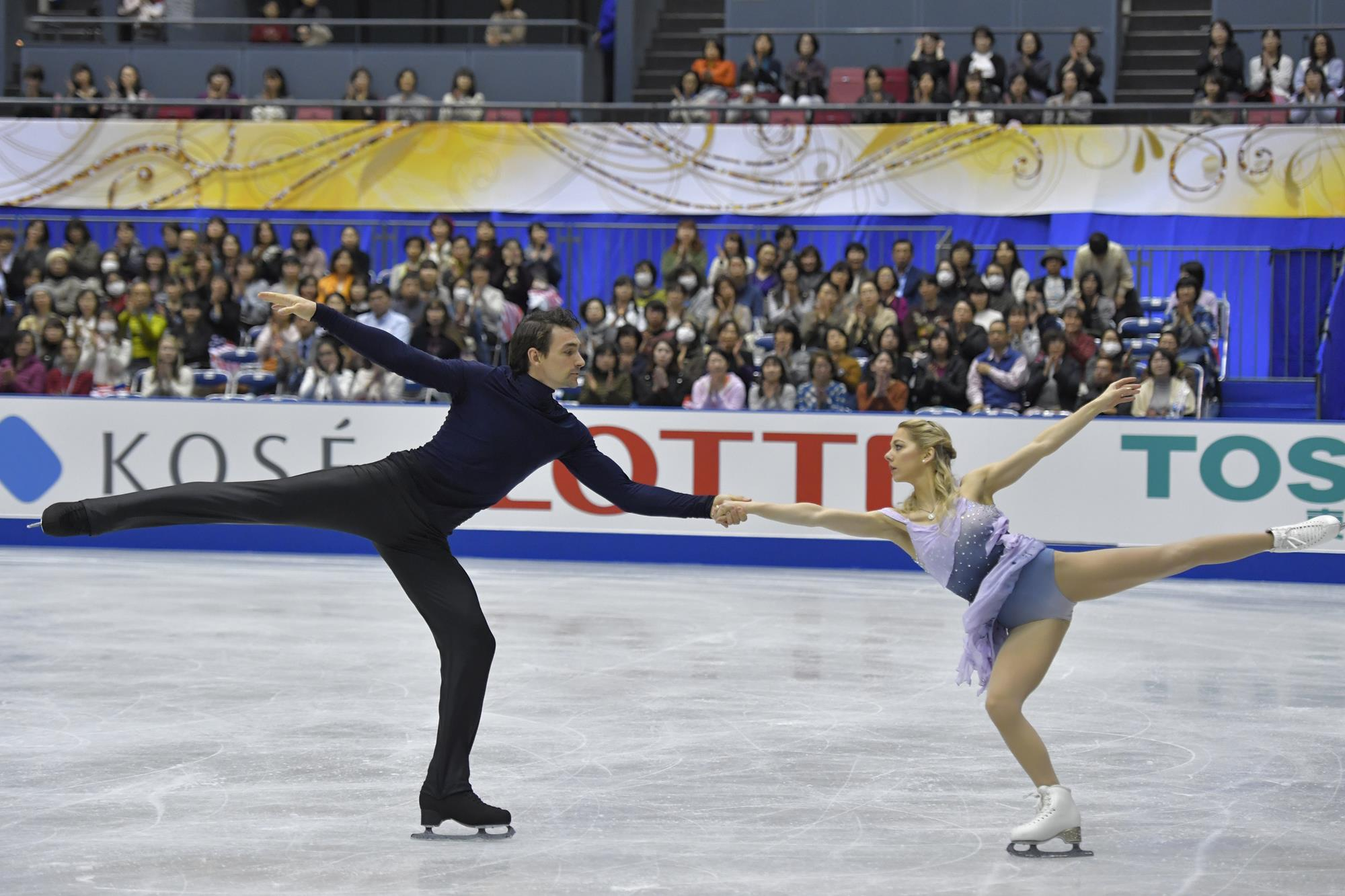 Ice skating married couples