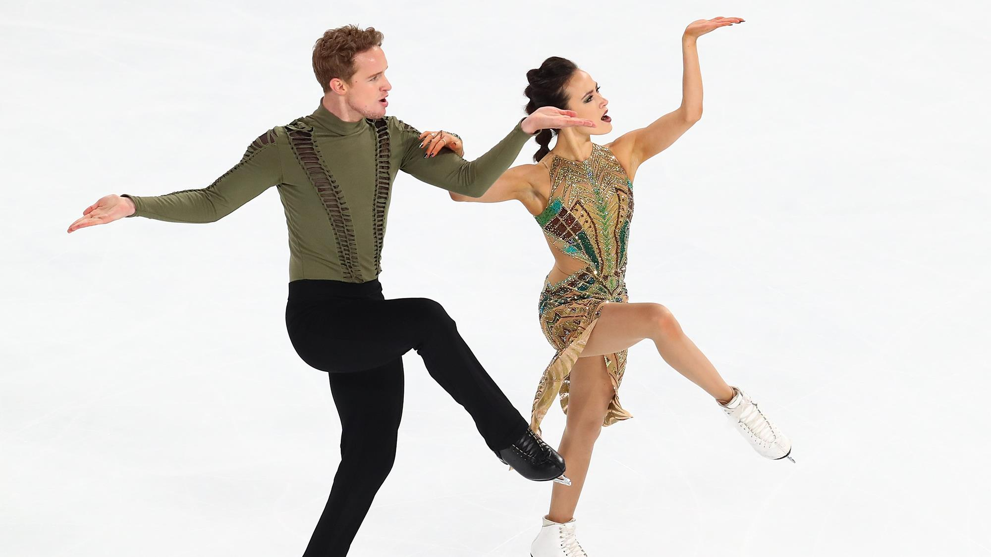 Image result for Madison Chock (All Year FSC) and Evan Bates