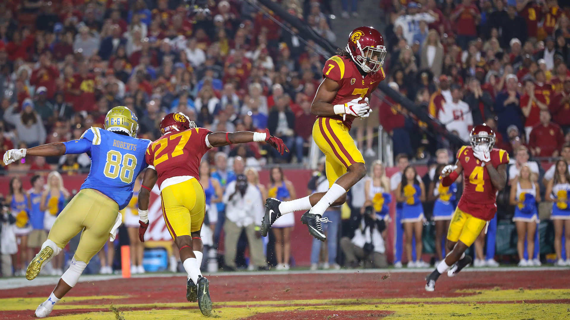 check out 14ec3 622df Marvell Tell III - Football - USC Athletics