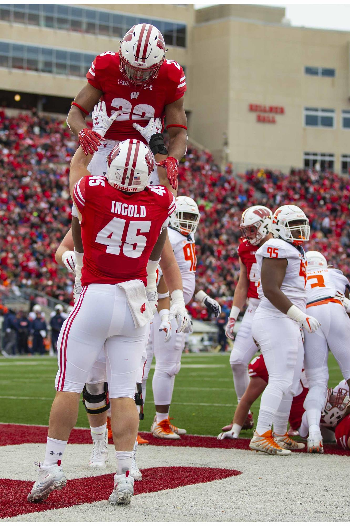 Alec Ingold | Football | Wisconsin Athletics