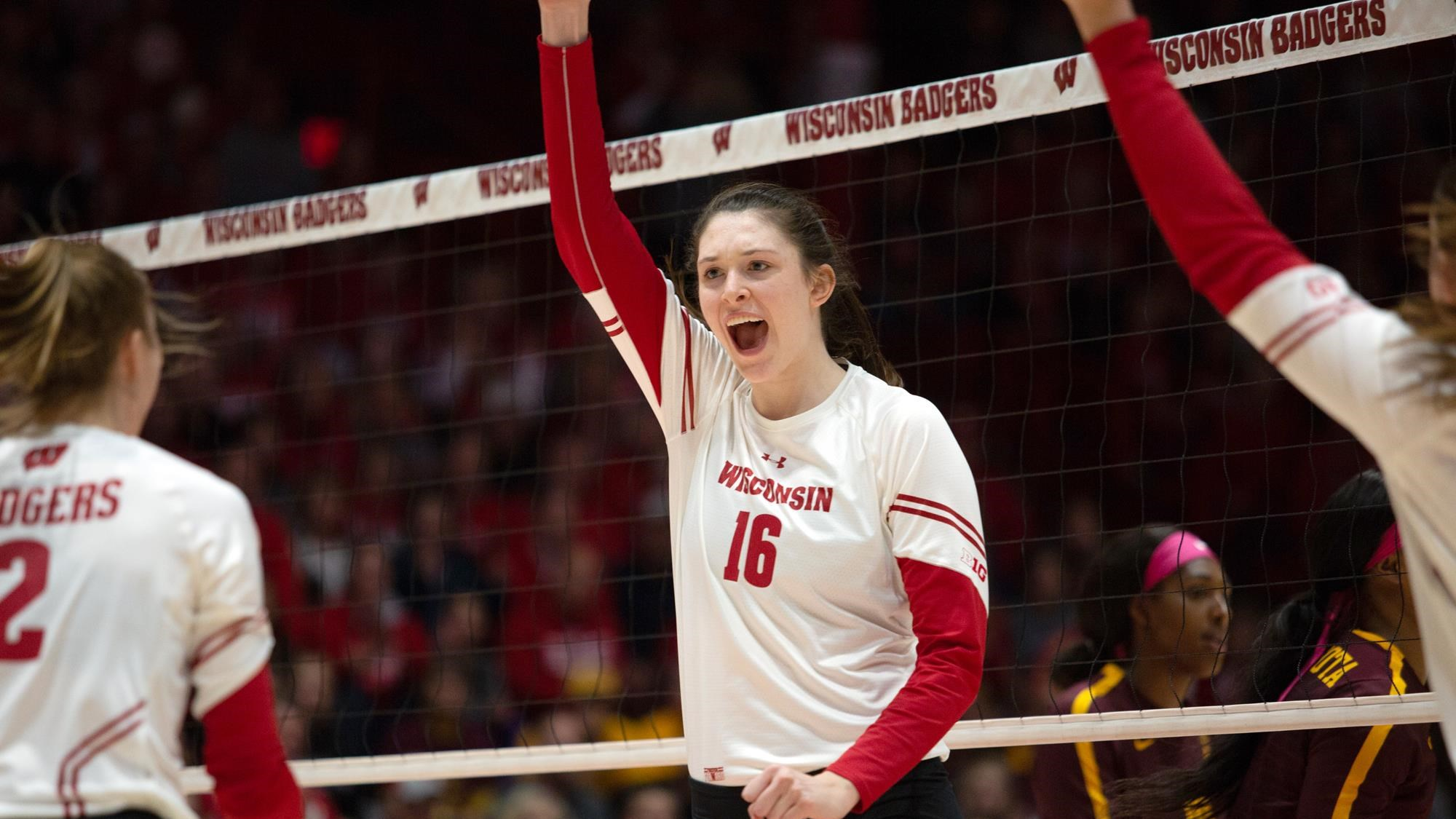 Dana Rettke Volleyball Wisconsin Badgers
