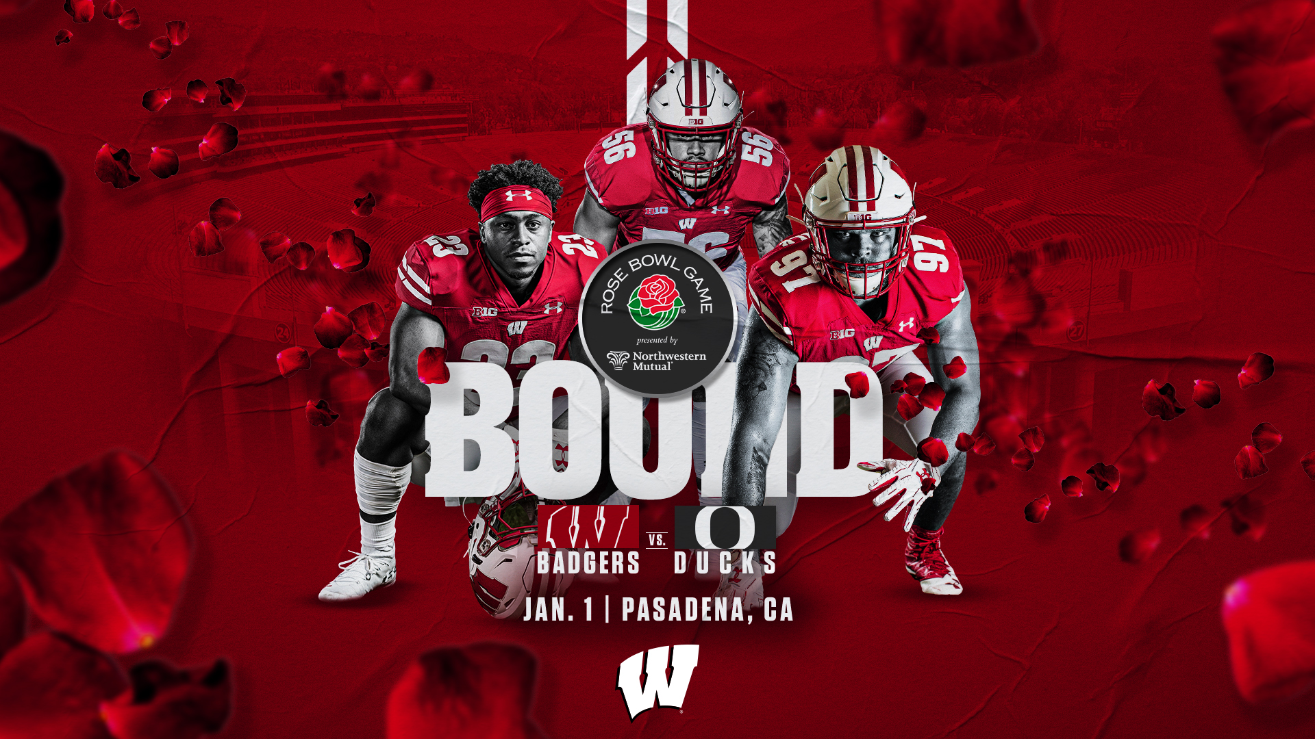 Bowl Games Jan 1 2020.Badgers Are Rose Bowl Bound Wisconsin Badgers