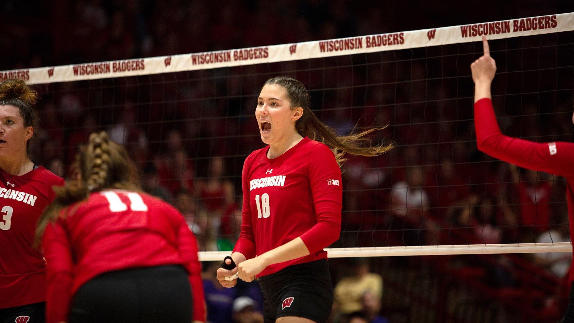Danielle Hart Volleyball Wisconsin Badgers