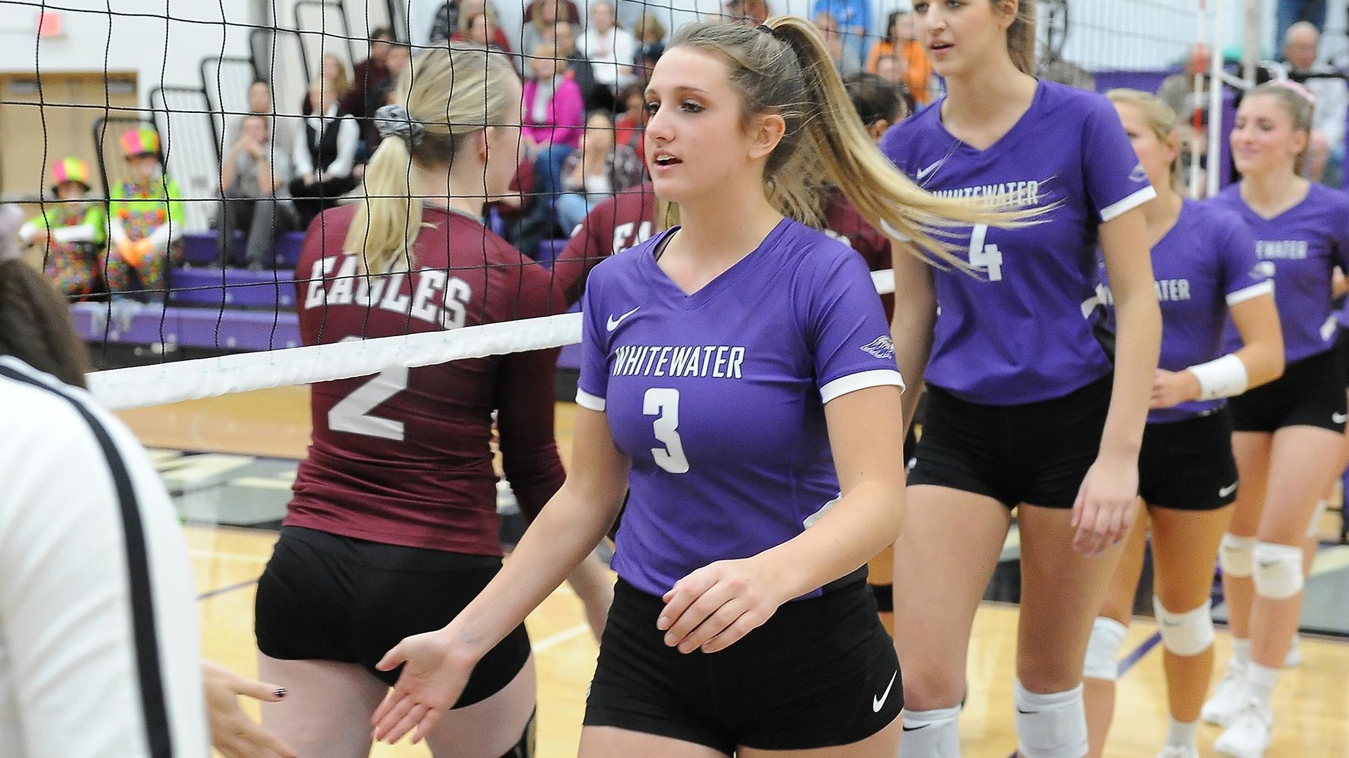 Katie Bartelt 2018 Volleyball University Of Wisconsin Whitewater Athletics
