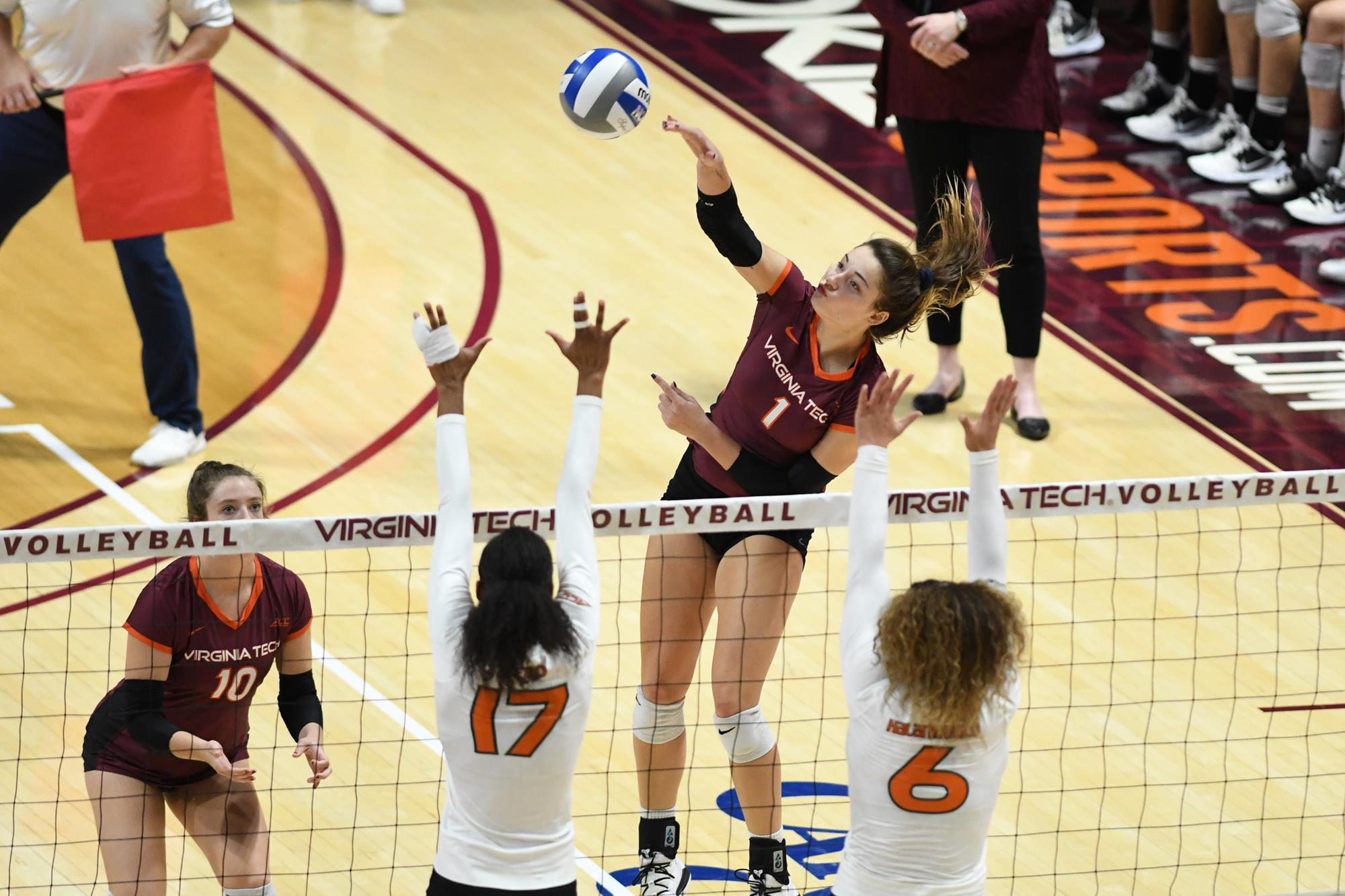 Kaity Smith Volleyball Virginia Tech Athletics