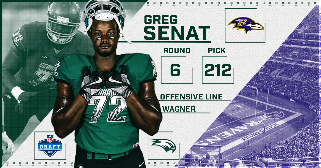 Greg Senat Selected By The Baltimore Ravens In Sixth Round Of NFL ...