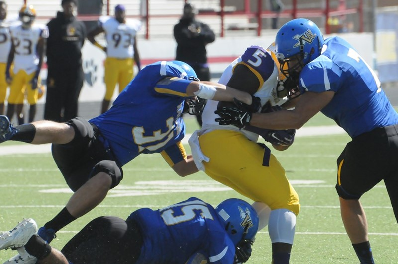 Micah Swanson 2015 Football Wayland Baptist University Athletics