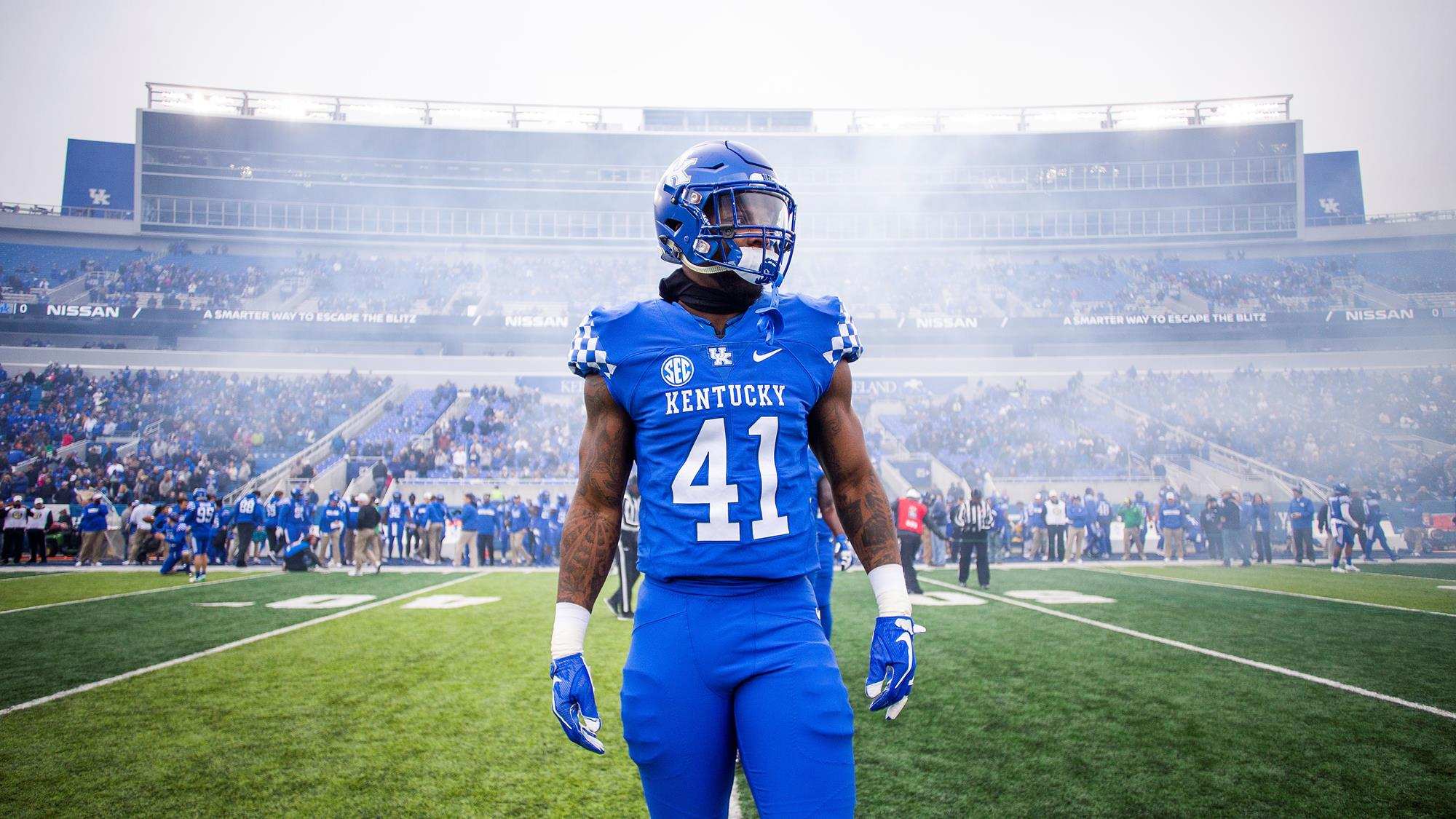save off afafe 4d0a6 Josh Allen - Football - University of Kentucky Athletics
