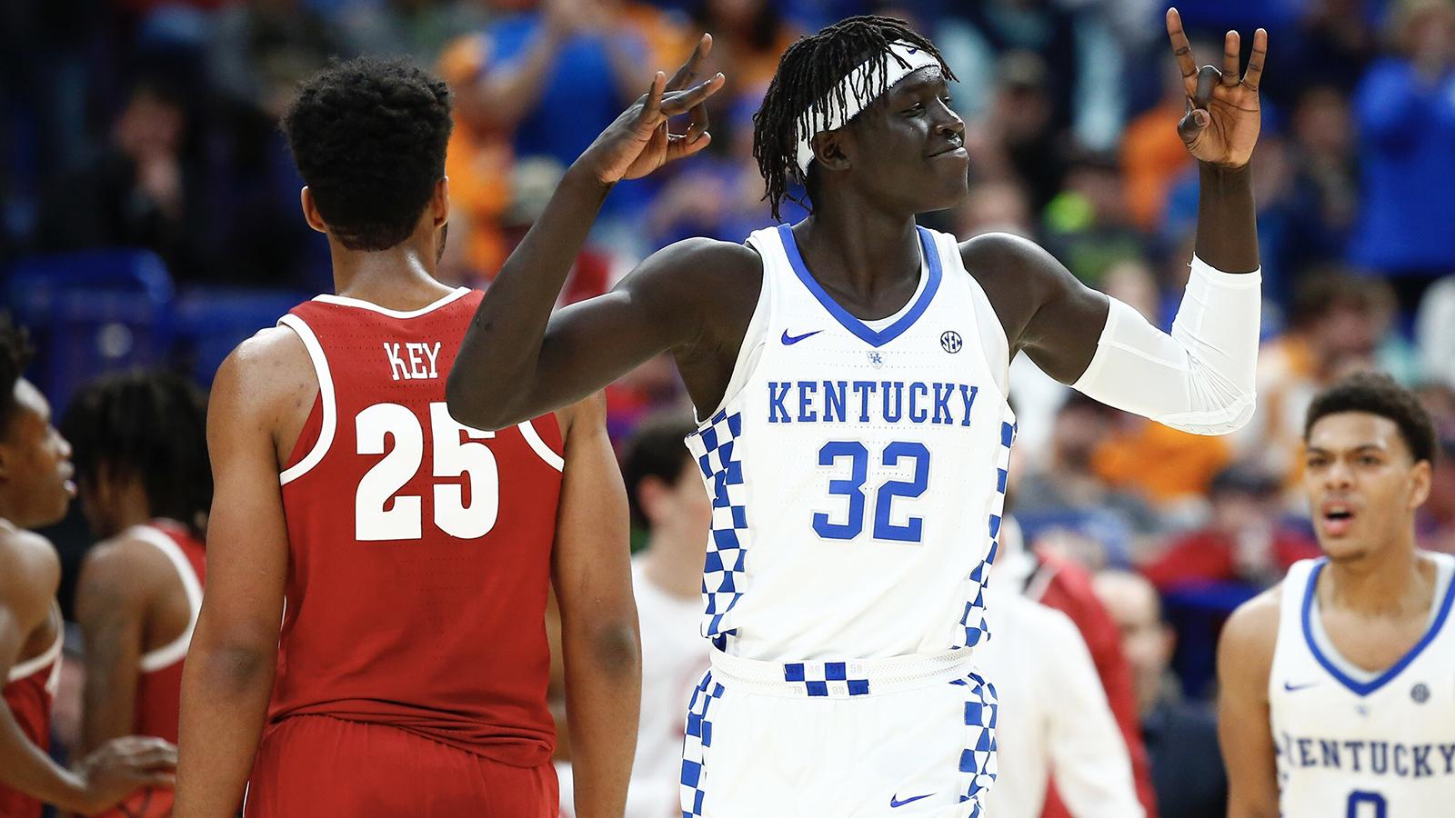 uk availability a4a2a dbab7 Wenyen Gabriel - Men's Basketball - University of Kentucky ...