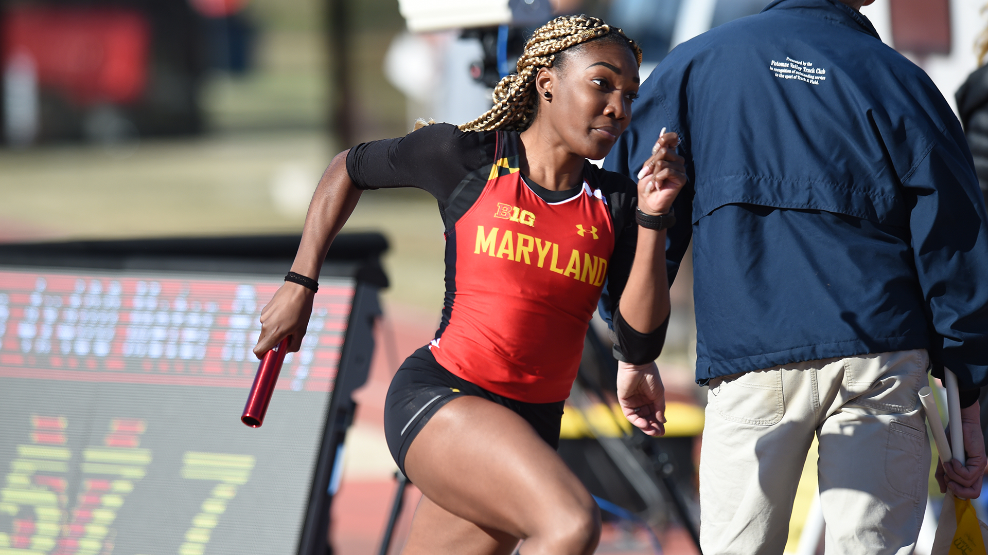 Xahria Santiago - Track & Field - University of Maryland Athletics