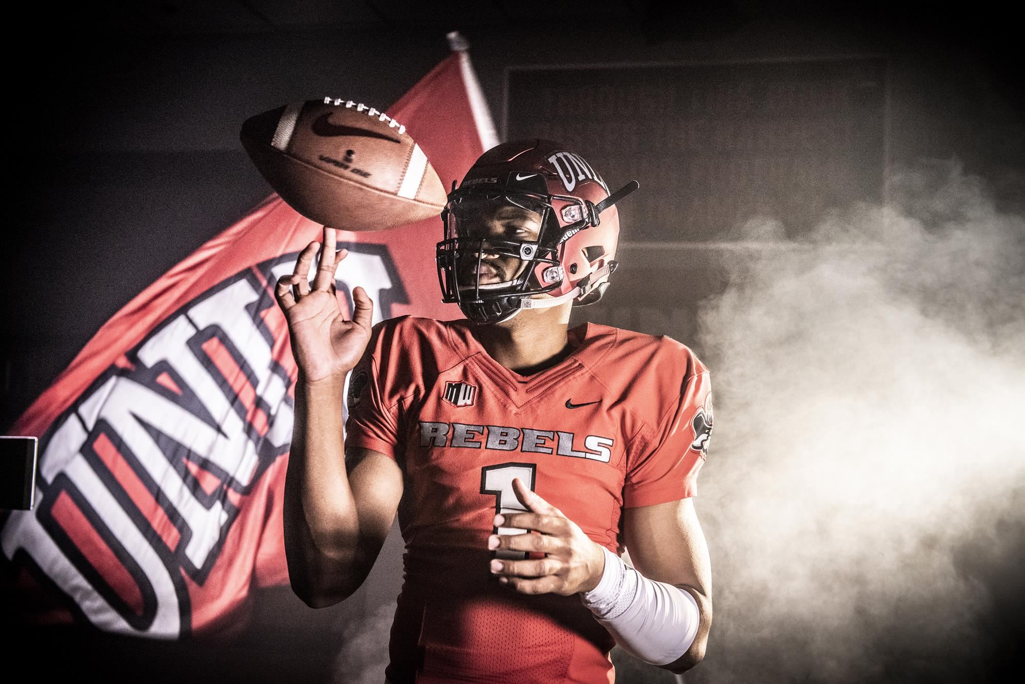 the latest b1758 1775b Armani Rogers - Football - University of Nevada Las Vegas ...