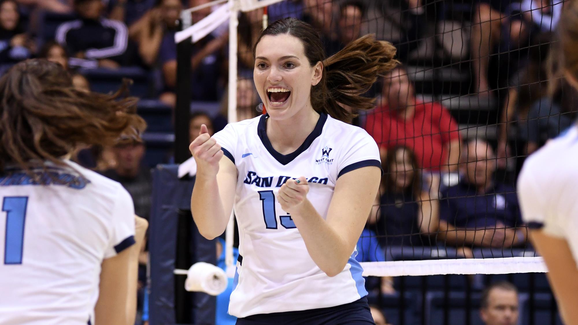 Kaity Edwards Women S Volleyball University Of San Diego Athletics