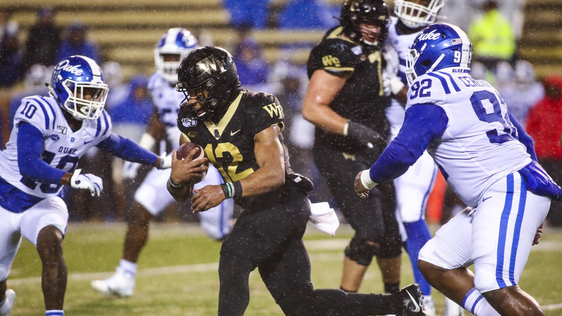 Photo: Jamie Newman (12), Wake Forest Athletics